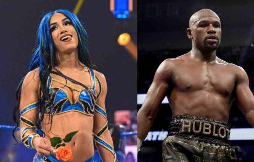 Sasha Banks & Floyd Mayweather Bombshell Leaks
