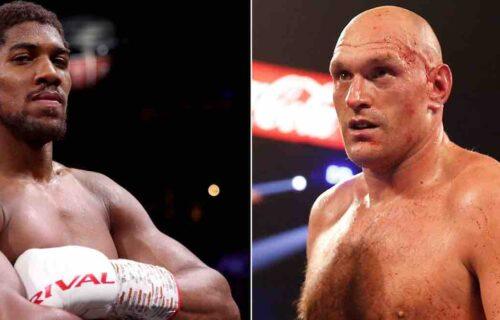Anthony Joshua Drops Tyson Fury Bombshell