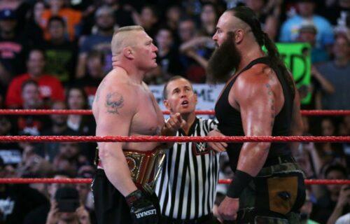 Braun Strowman & Brock Lesnar AEW Rumor Leaks