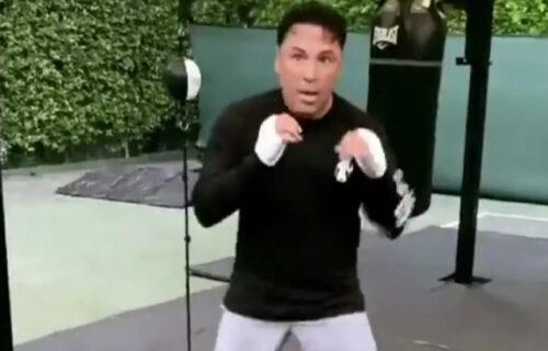 UFC Star Leaks Oscar de la Hoya 'Drunken Meltdown' In Video