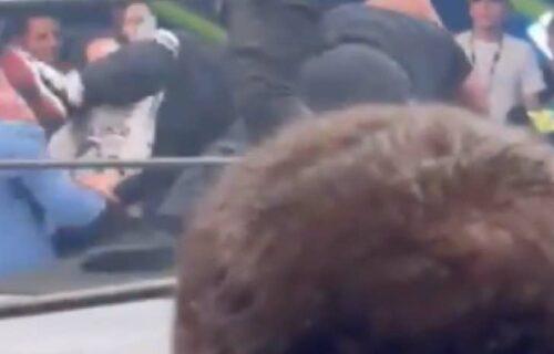 AEW Announcer 'Kicked In Face' By Fan In Video