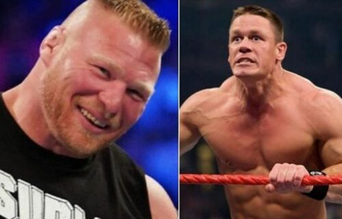 John Cena 'Breaks Character' After Brock Lesnar Attack