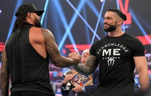 Jimmy Uso 'Breaks Character' With Roman Reigns?