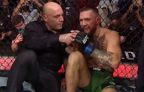 Joe Rogan Posts 'Offensive' Conor McGregor Photo