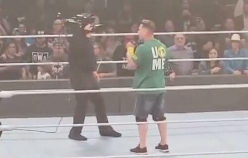 John Cena WWE Money in the Bank Promo Leaks