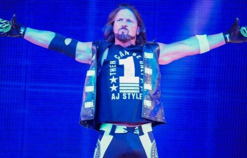 AJ Styles 'Removal' From Raw Stuns Fans