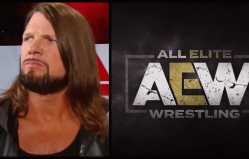AJ Styles Spotted With AEW Stars Before SummerSlam