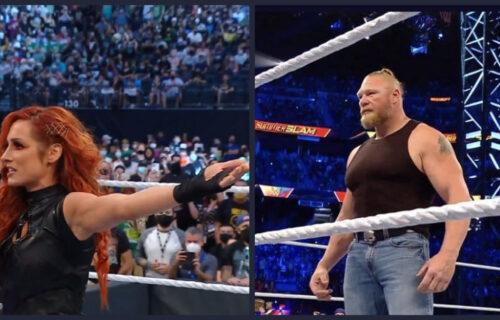 Becky Lynch & Brock Lesnar 'Anger' Top WWE Name