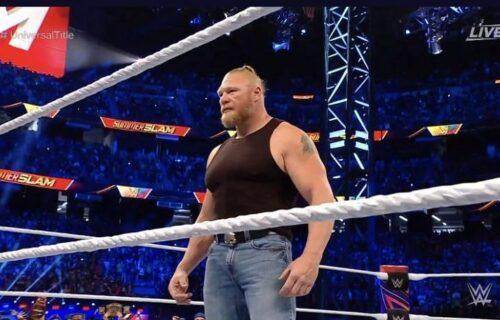 Brock Lesnar 'Disrespected' Raw Star For Haircut