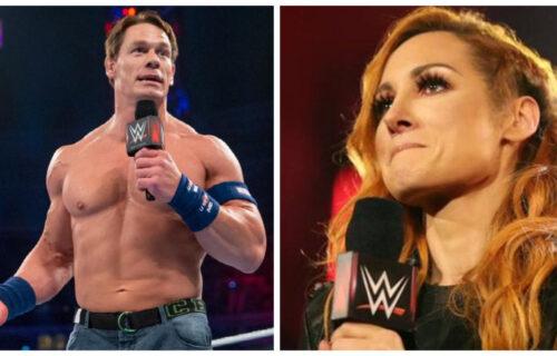 John Cena Bold Offer To Becky Lynch Leaks