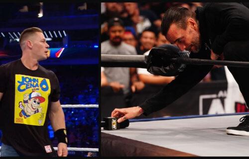 John Cena Blatantly 'Rips Off' CM Punk In Photo