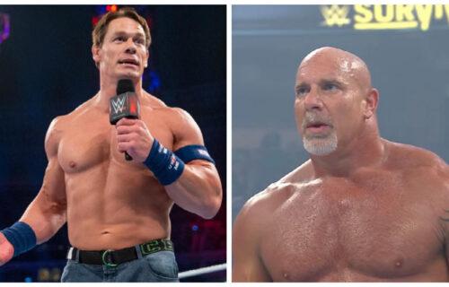John Cena & Goldberg 'Removed' From WWE Draft