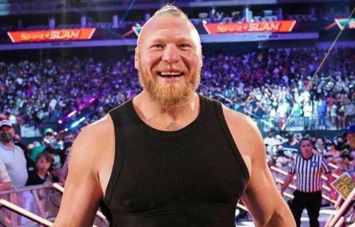Brock Lesnar Missed Smackdown For Bad Reason