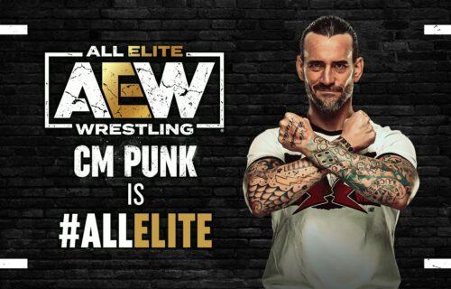 CM Punk Fan 'Breaks Down Crying' In AEW Photo