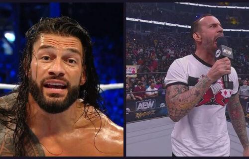 Roman Reigns 'Humiliates' CM Punk After AEW Show