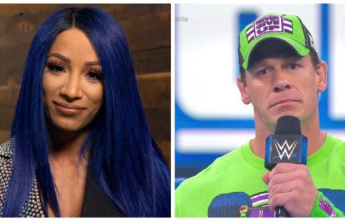 Sasha Banks & John Cena Bombshell Revealed