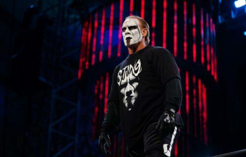 Sting Kicks AEW Star Out Of Dressing Room