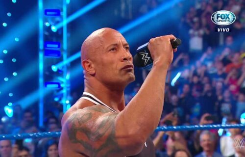 The Rock Sends Bold Message To Deontay Wilder