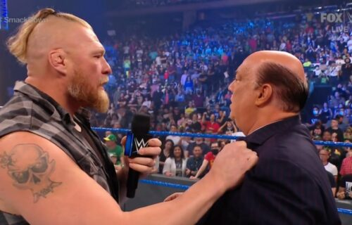 Paul Heyman Leaks Brock Lesnar WrestleMania Match?
