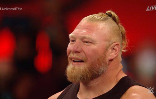 Joe Rogan Leaks Brock Lesnar Return Rumor