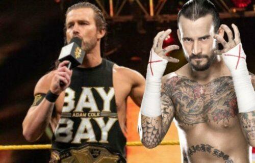 CM Punk Drops Adam Cole AEW Bombshell