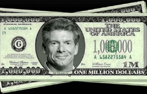 WWE Sell Vince McMahon Dollar Bill For Insane Price