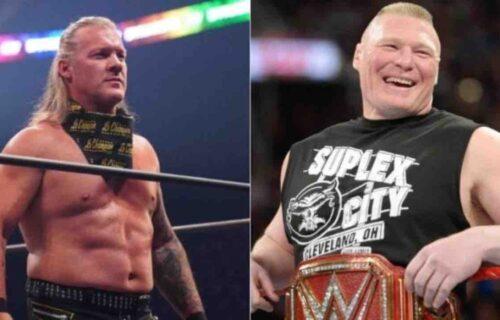Chris Jericho 'Exposes' Brock Lesnar At AEW Dynamite