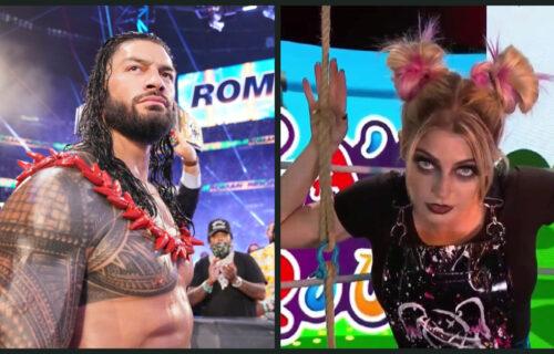 Alexa Bliss 'Sabotages' Roman Reigns Match