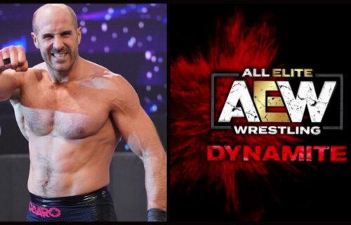 Cesaro Drops AEW Dynamite Bombshell