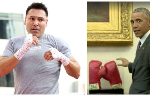 Oscar de la Hoya & Barack Obama Fight Rumor Leaks