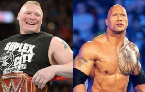 The Rock 'Replaces' Brock Lesnar At WWE Show?