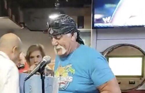 Hulk Hogan 'Struggles' To Walk In Sad Video
