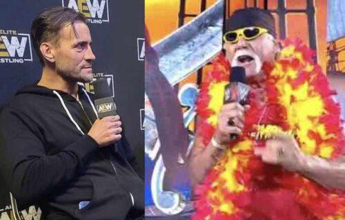 CM Punk Drops Hulk Hogan AEW Bombshell