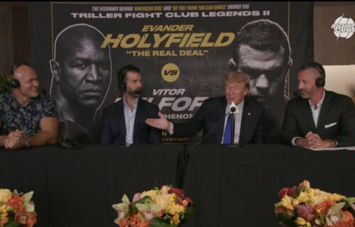 Donald Trump Tries To Fight UFC Star At Triller